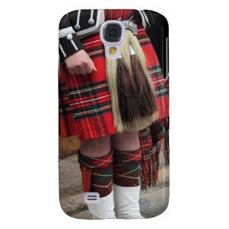 Cierre escocés del gaitero para arriba, regalo funda samsung s4