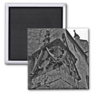 Cierre gótico del bufón de la corte de la catedral imán para frigorifico