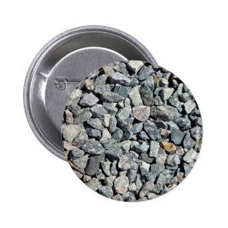 Cierre grueso de la grava del granito para arriba pin