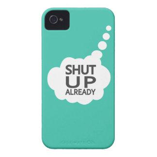 """""""Cierre"""" la caja de encargo de Blackberry del iPhone 4 Case-Mate Protector"""