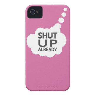 """""""Cierre"""" la casamata de encargo del iPhone del iPhone 4 Carcasas"""
