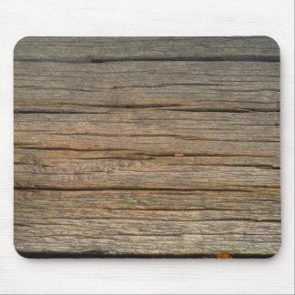 cierre marrón de madera del árbol para arriba alfombrilla de ratón