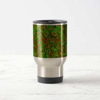 Cierre microscópico de la calcificación taza térmica