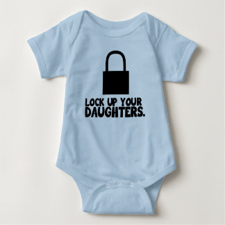 Cierre para arriba a sus hijas body para bebé