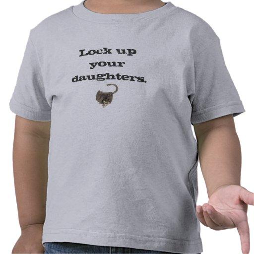 Cierre para arriba a sus hijas camiseta
