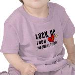 Cierre para arriba su camiseta del bebé de la