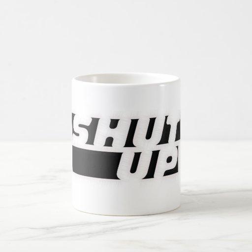 Cierre para arriba tazas de café