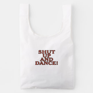 ¡Cierre para arriba y baile! Bolsa Reutilizable