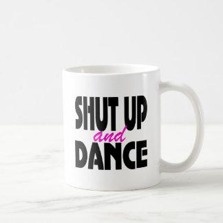 Cierre para arriba y baile taza