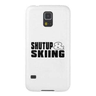 Cierre para arriba y ESQUÍ Carcasas Para Galaxy S5