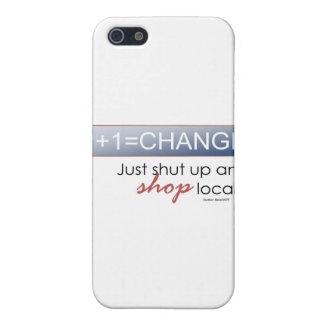 Cierre para arriba y haga compras Local iPhone 5 Coberturas