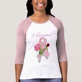 Cierre para el superviviente del cáncer de pecho camiseta