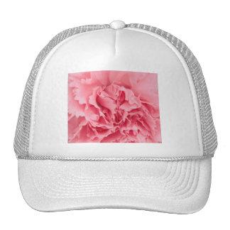 Cierre rosado del clavel del gorra para arriba