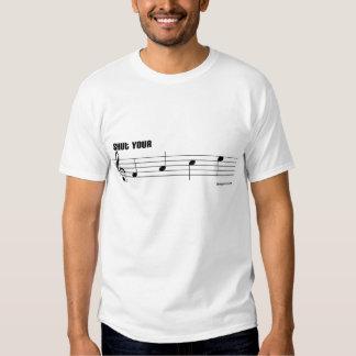 Cierre su retruécano de la música de la cara playera