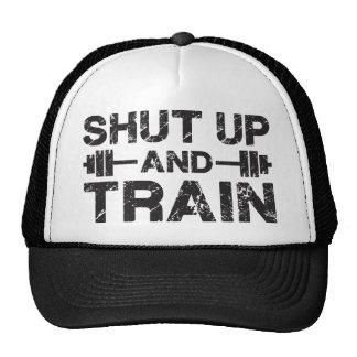 Cierre y entrene a la ha gorras