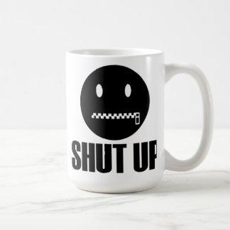 Ciérrelo, relampague las tazas de café