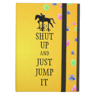 Ciérrelo y apenas salte caballo