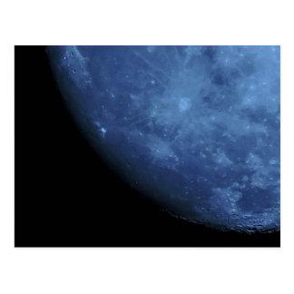 Ciérrese encima de la Luna Llena de la foto en Postales