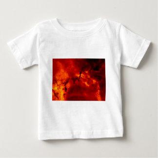Ciérrese encima de la vista de la nebulosa playera de bebé