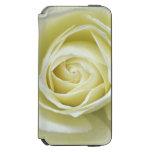 Ciérrese encima de los detalles del rosa blanco funda billetera para iPhone 6 watson