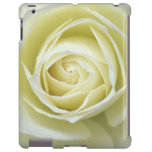 Ciérrese encima de los detalles del rosa blanco funda para iPad