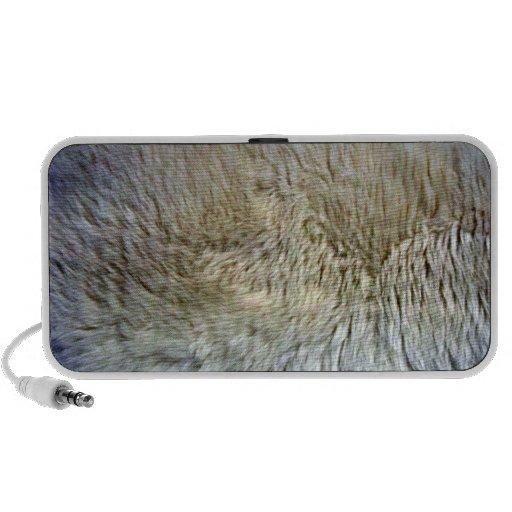 Ciérrese encima de textura de la zalea iPhone altavoz