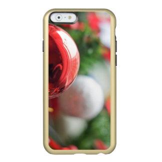 Ciérrese para arriba de bola roja en el árbol de funda para iPhone 6 plus incipio feather shine