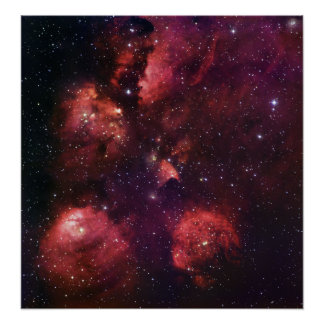 Ciérrese para arriba de la goma 64 de la nebulosa  posters