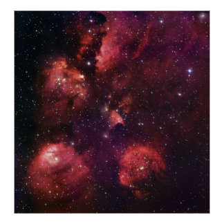 Ciérrese para arriba de la goma 64 de la nebulosa  impresiones