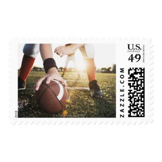 Ciérrese para arriba de la preparación de centro timbres postales