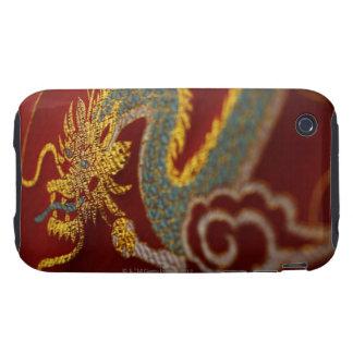 Ciérrese para arriba de la seda china carcasa though para iPhone 3