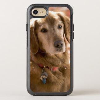 Ciérrese para arriba de perro de oro del labrador funda OtterBox symmetry para iPhone 7