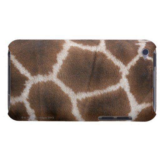 Ciérrese para arriba de piel de las jirafas Case-Mate iPod touch protector
