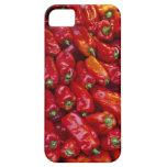 Ciérrese para arriba de pimientas rojas funda para iPhone SE/5/5s
