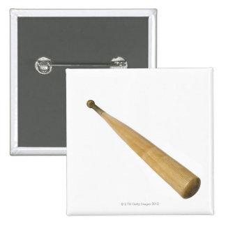 Ciérrese para arriba de un bate de béisbol pin cuadrado