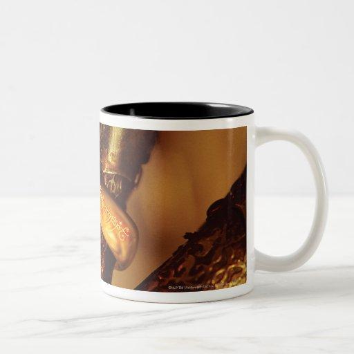 Ciérrese para arriba del anillo tazas de café