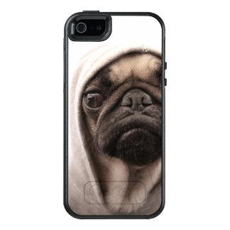 Ciérrese para arriba del hoodie. que lleva del funda otterbox para iPhone 5/5s/SE