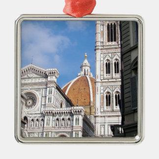 Ciérrese para arriba en Florencia Adorno Cuadrado Plateado