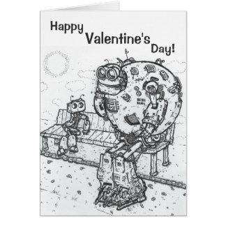 Cierta tarjeta del el día de San Valentín