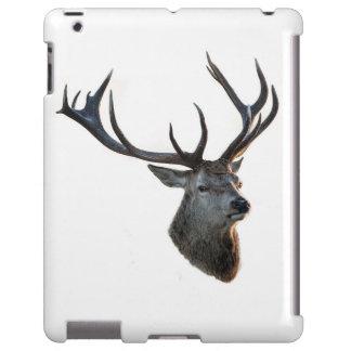 Ciervo de rojo/Hablas Deer Funda Para iPad