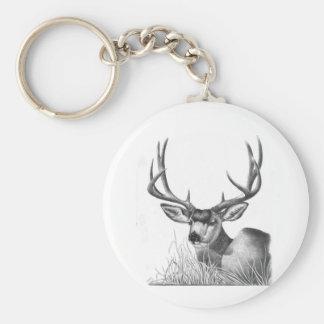 ciervo mula 88 llavero redondo tipo pin