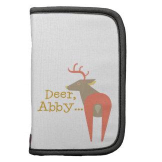 Ciervos, Abby… Organizador