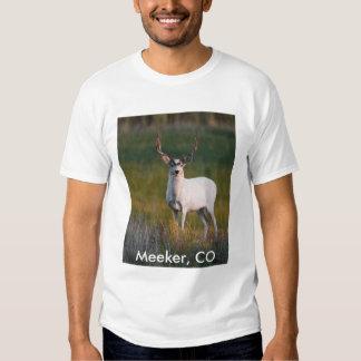Ciervos blancos más mansos 2 camisas