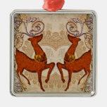 Ciervos clásicos ornamentos de reyes