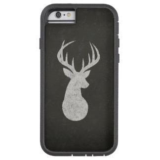 Ciervos con el dibujo de tiza de las astas funda de iPhone 6 tough xtreme