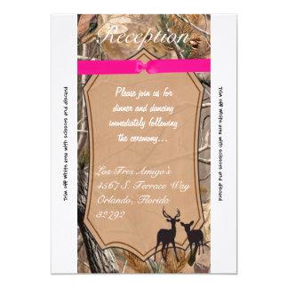 ciervos de Camo Camoflauge de los cazadores de la Invitación 12,7 X 17,8 Cm