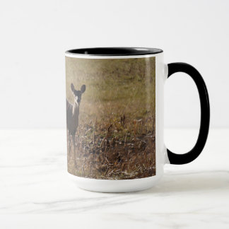 Ciervos de la Blanco-Cola Taza