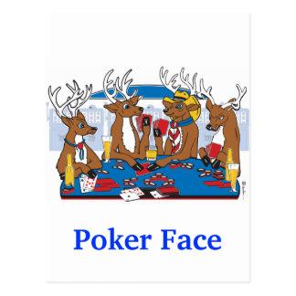 Ciervos de la cara de póker