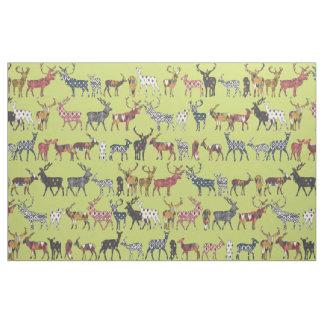 ciervos de la especia del pistacho telas