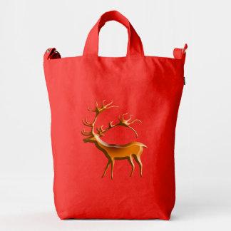 Ciervos de Lascaux Bolsa De Lona Duck